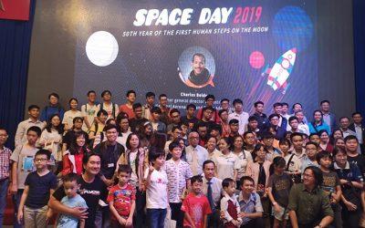 Nguyên TGĐ NASA dự ngày hội vũ trụ Space day 2019