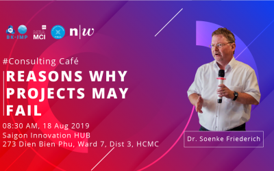 Consulting Café: REASONS WHY PROJECT MAY FAIL?